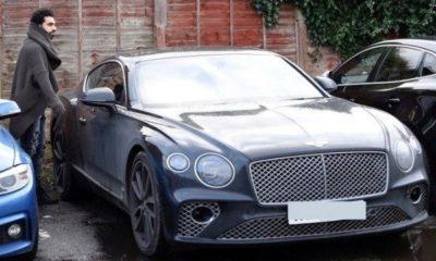 mo Salah car collection, liverpool