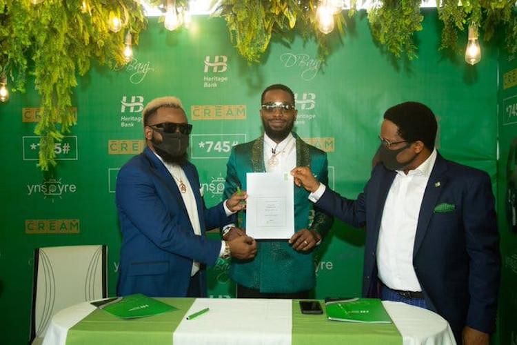 D'banj Heritage Bank Deal D'banj News