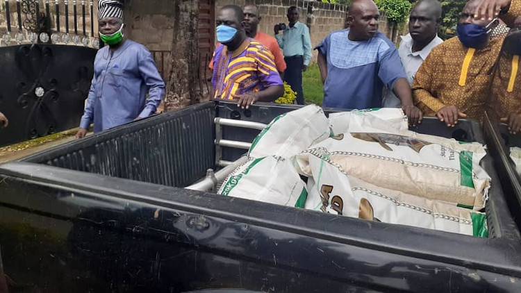 APC Returns 13 Bags Of Rice Out Of 250 Bags Three Months After (PHOTOS)
