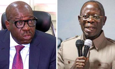 Edo 2020: Governor Obaseki, Adams Oshiomhole