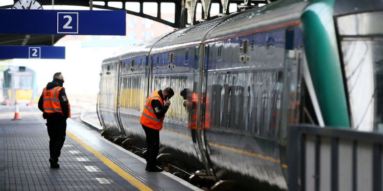 Irish Rail Engineers on inspection| www.brandnewsday.com