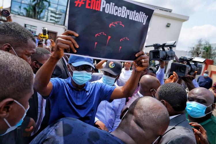 Sanwo-olu #endSARSProtest