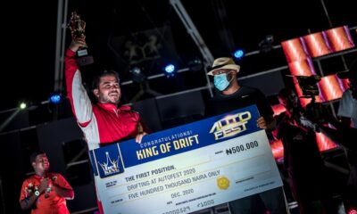 Sandouk Worn BETKING 'King Of Drift' Crown At Lagos Autofest (PHOTOS)