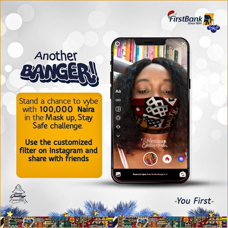 First Bank: Mask Up, Stay Safe