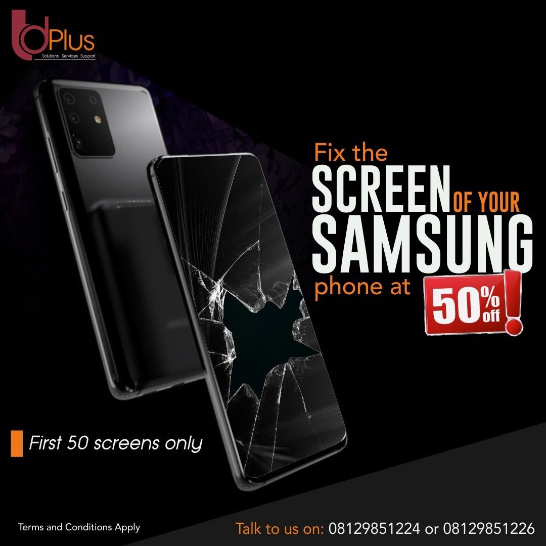 TD Plus signs on Samsung, offers 50% discount on screen repairs, TD Plus and Samsung