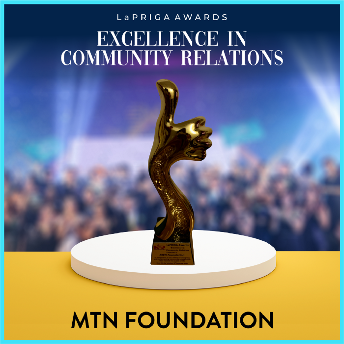 MTN Nigeria Wins Excellence in Community Relations Award At LaPRIGA Awards Brandnewsday