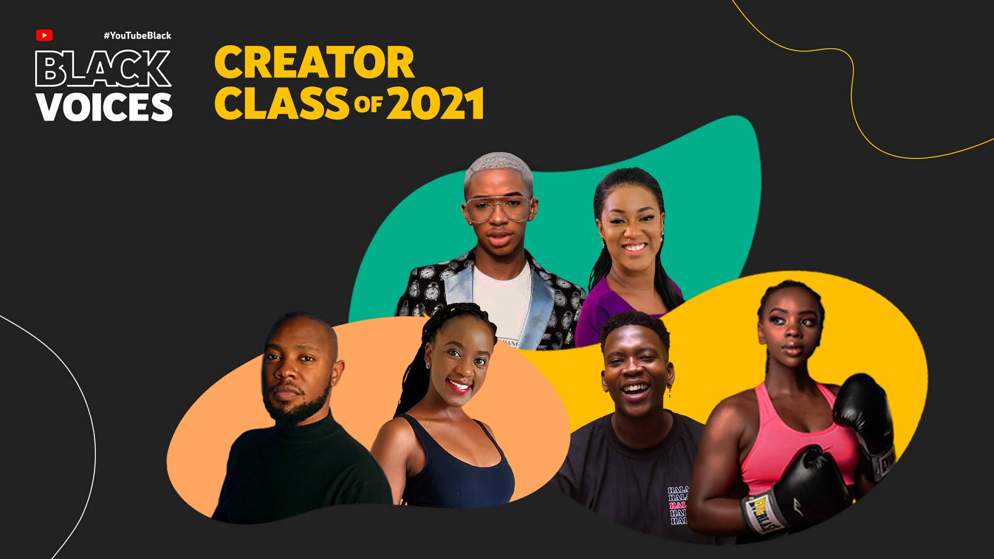 YouTube Announces Inaugural #Youtubeblackvoices Creator Grantees From Africa Brandnewsday