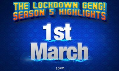 #BBNaija Lockdown Highlights Airs from March 1 on Africa Magic Brandnewsday