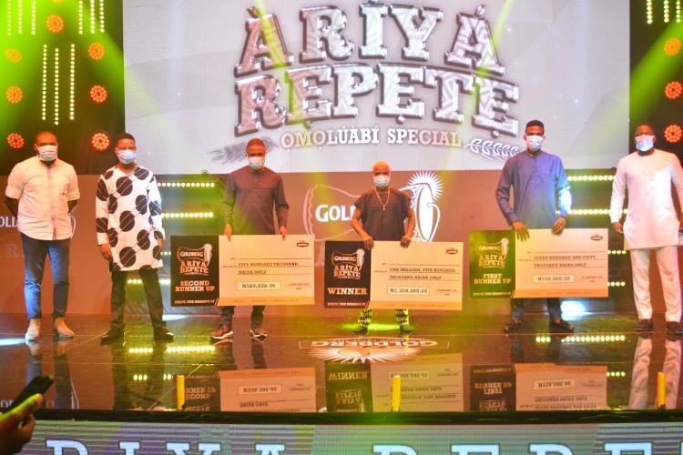 Ariya Repete, Ariya Repete winner 2020, Ariya Repete Winner 2021, Goldberg Lager