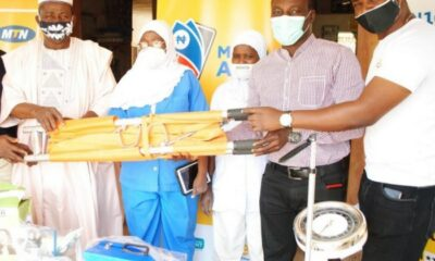 MTN Foundation hands over Medical equipment to Primary Health Centers brandnewsday1