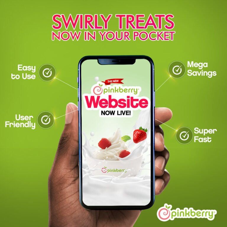 Bringing Swirl To Your Pockets With The New Pinkberry Ecommerce Website - Brand News Day | Nigeria Business News, Investing, Financial Literacy, Data
