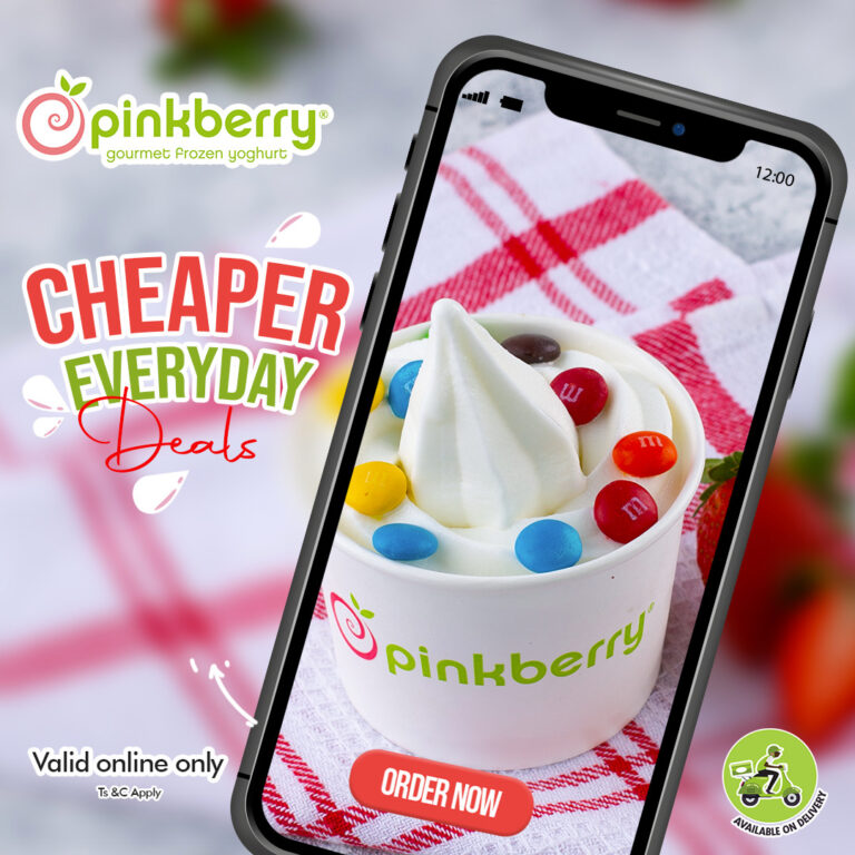 The New Pinkberry Ecommerce Website