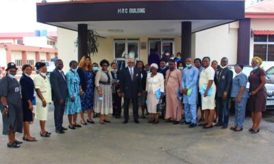 LASUTH- Nursing Council brandnewsday Nursing and Midwifery Council of Nigeria Accreditation Team Visits LASUTH
