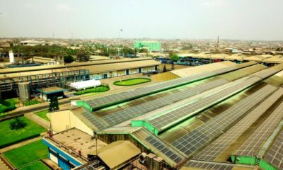 Nigerian Breweries Commissions new Solar Plant at its Ibadan Factory