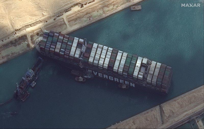 Oil Rebounds On Suez Outage Brandnewsday