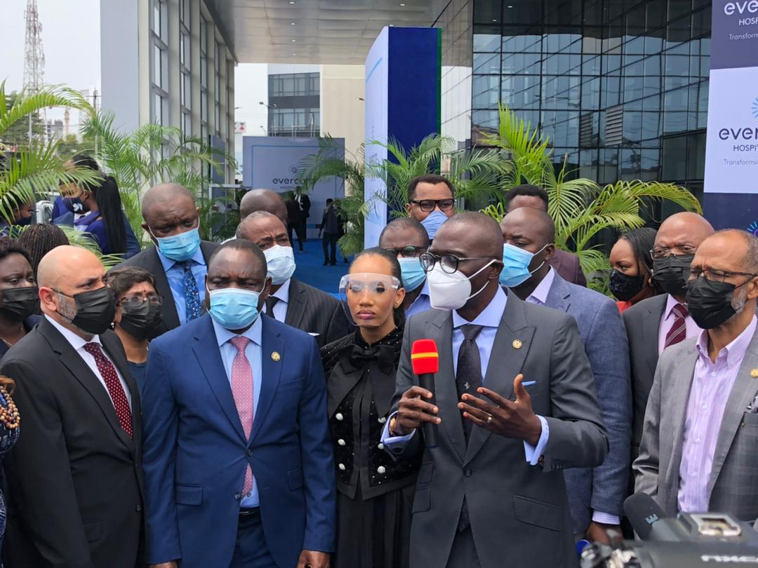 Osinbajo, Sanwo-Olu Unveil Evercare Hospital Lekki's State-of-the-Art Multispecialty Center in Lagos (Photos) Brandnewsday2
