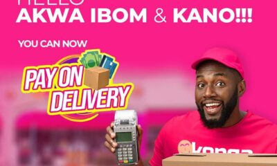 Konga Light Ups Ogun, Kaduna With Konga Pay On Delivery Option
