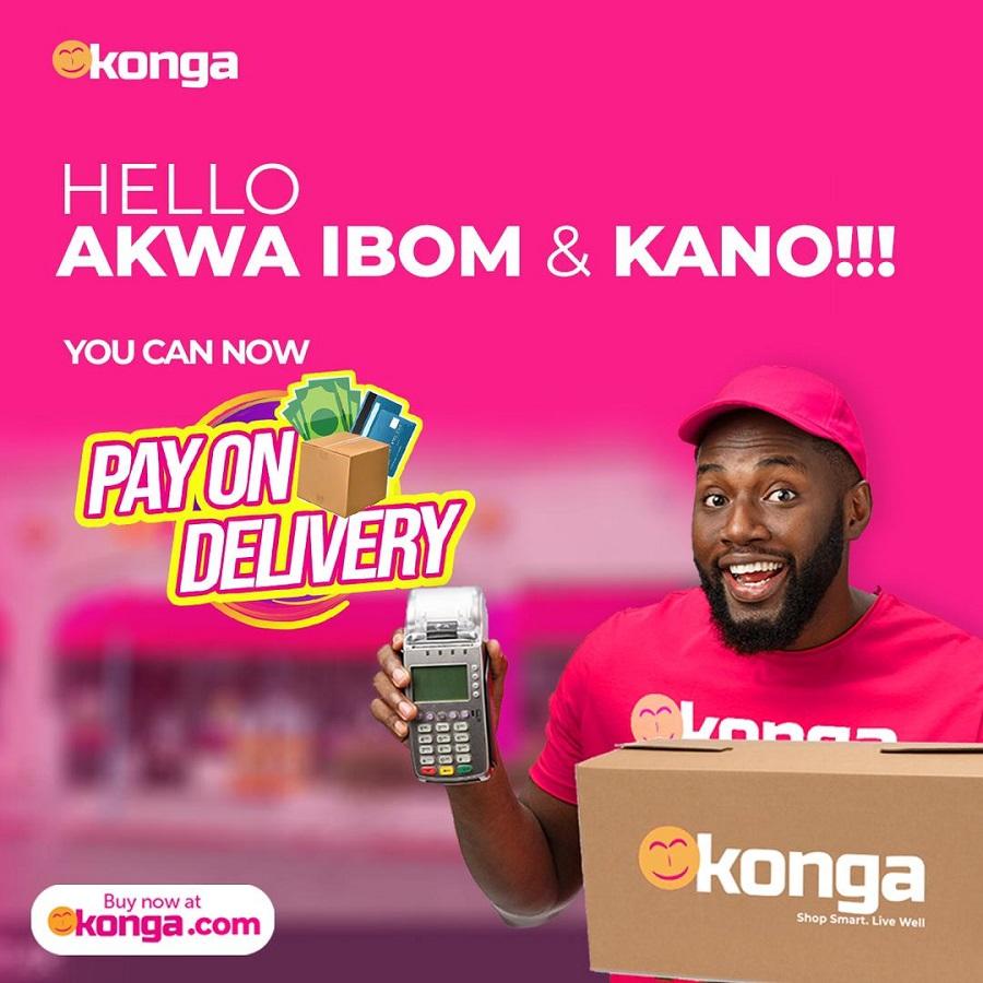 Konga Light Ups Ogun, Kaduna With Konga Pay On Delivery Option