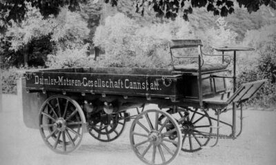 The First Truck In The World Was Built By Gottlieb Daimler In 1896 (Photos)