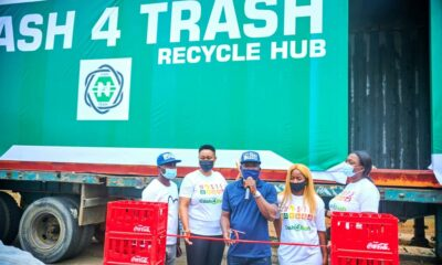 "Coca-Cola Launches ""Cash 4 Trash"" Initiative In Lagos Brandnewsday nigeria"