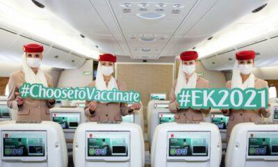 Emirates Milestone Flight EK2021 Highlights Industry Readiness For Travel Rebound