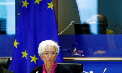 Lagarde, the next president of the European Central Bank, speaks to the EU Parliament's Economic and Monetary Affairs Committee in Brussels