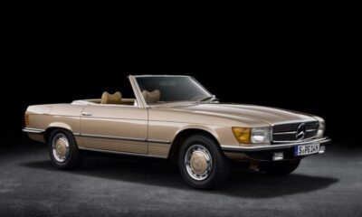 Mercedes-Benz SL of the R 107 Model Series: Premiere 50 years ago
