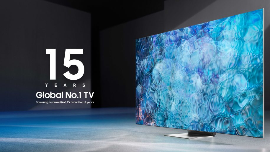 Samsung Named No.1 Global TV Manufacturer for 15 Consecutive Years Brandnewsday
