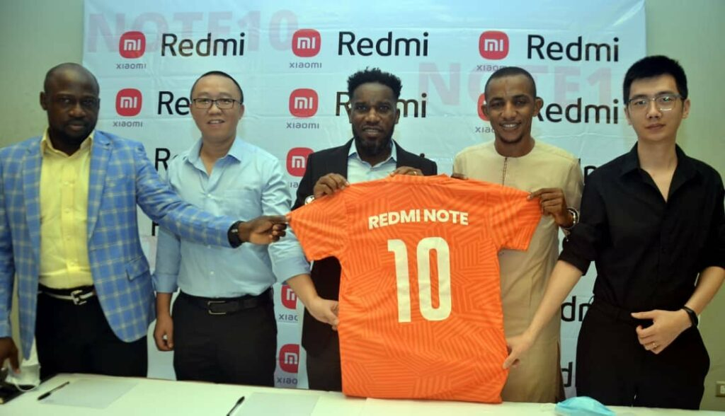 Xiaomi Signs Jay-Jay Okocha as Brand Ambassador (Photos) Brandnewsday