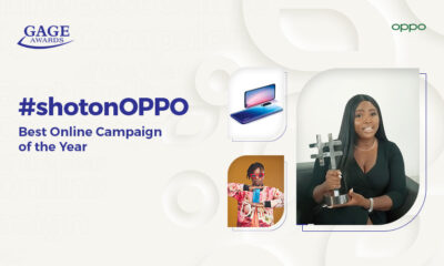 #shotonOPPO: OPPO Nigeria Wins African Digital Award for Online Campaign of the Year