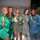 Nancy Isime, Uti and VJ Adams Excitement  Football Fans With The Heineken UEFA Challenge!