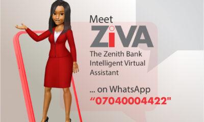 Zenith Bank Introduces Whatsapp Chatbot, ZIVA Banking