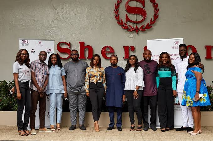 beneficiaries of Wema SME's Business School