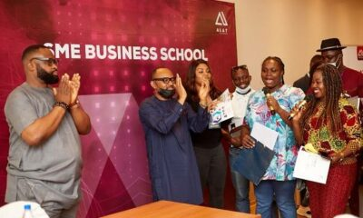 Beneficiaries Laud Wema Bank's SMEs Business School
