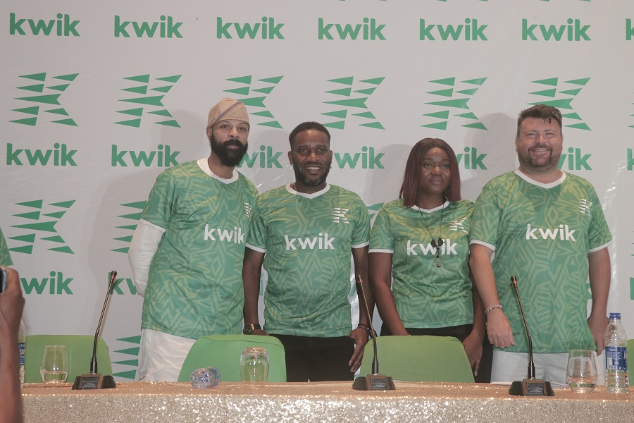 Kwik Delivery Picks JJ Okocha, Power-Biker, Fehinty As Brand Ambassadors