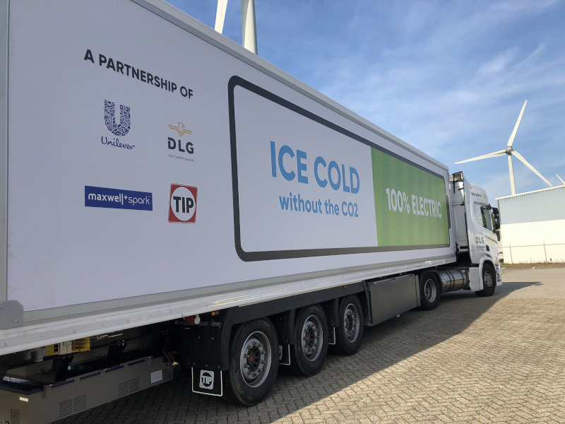 Zero-Emission Refrigeration For Transporting Ice Creams Comes Step Closer