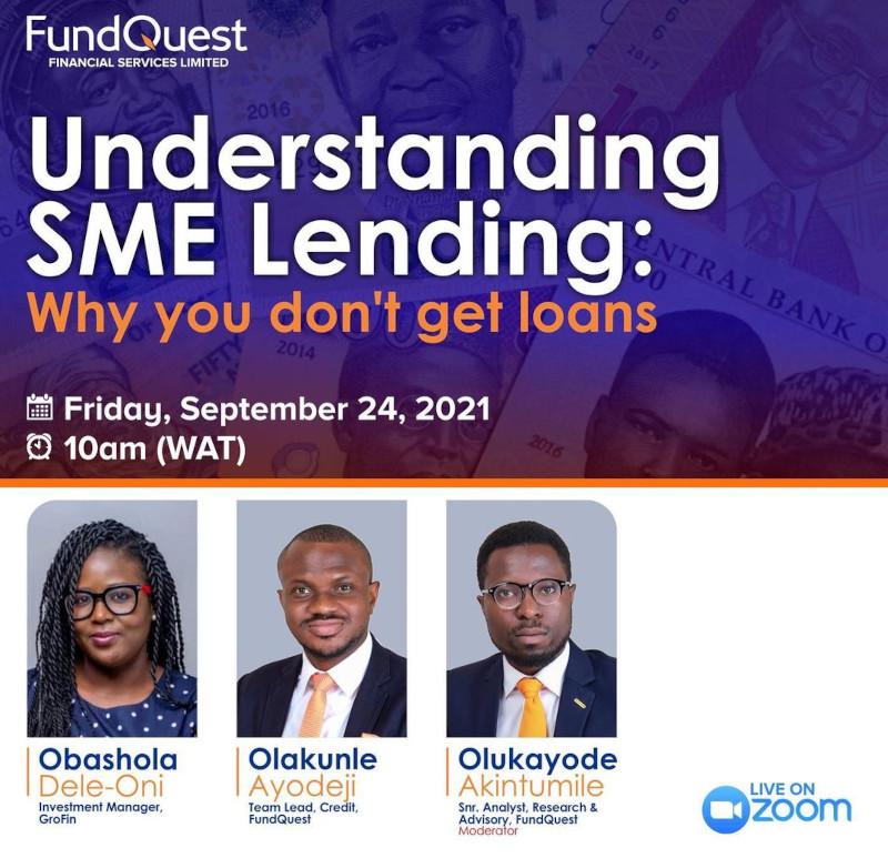 Webinar: Understanding SME Lending: Why You Don't Get Loans